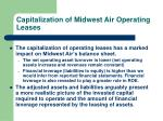 capitalization of midwest air operating leases26