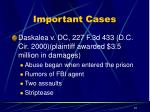 important cases10