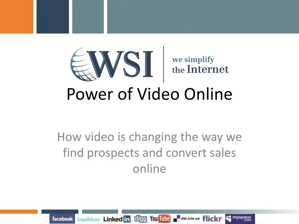 Power of Video Online
