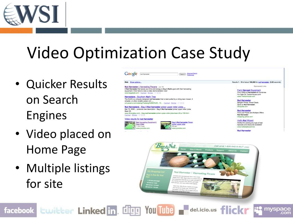 Video Optimization Case Study