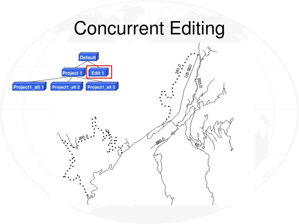 Concurrent Editing