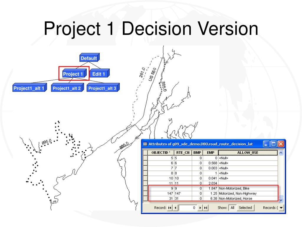 Project 1 Decision Version