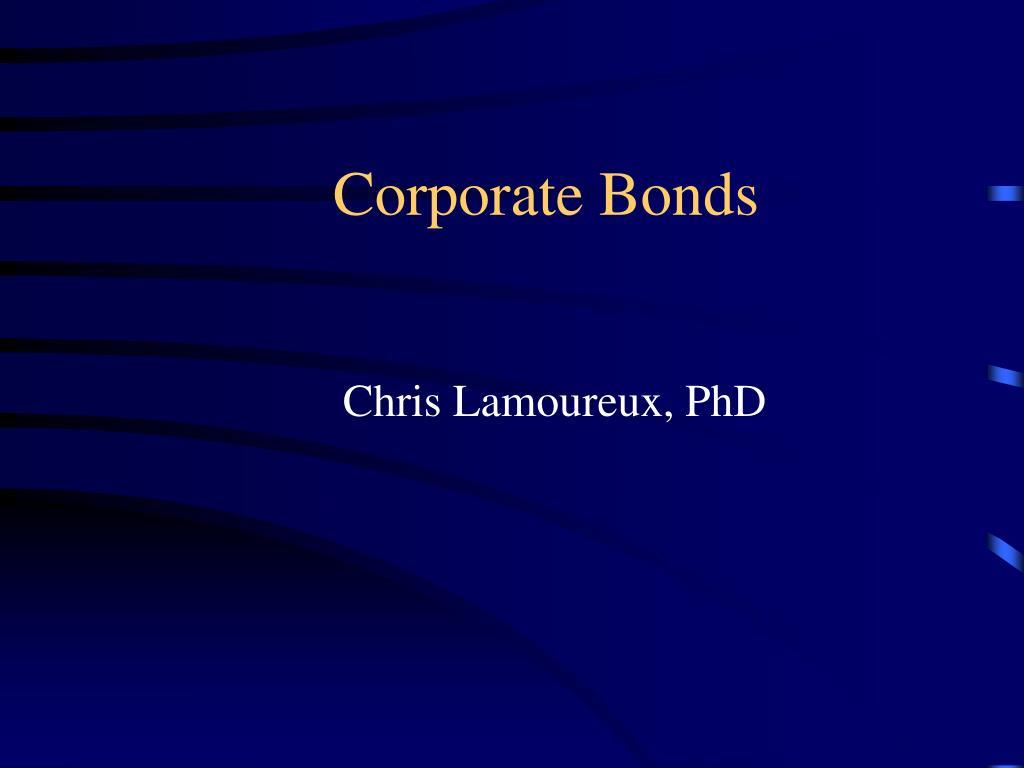 corporate bonds l.