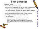 body language5