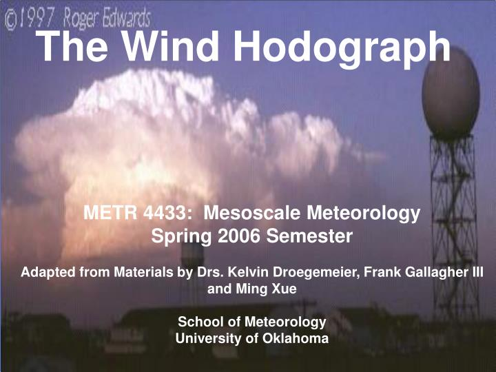 the wind hodograph n.