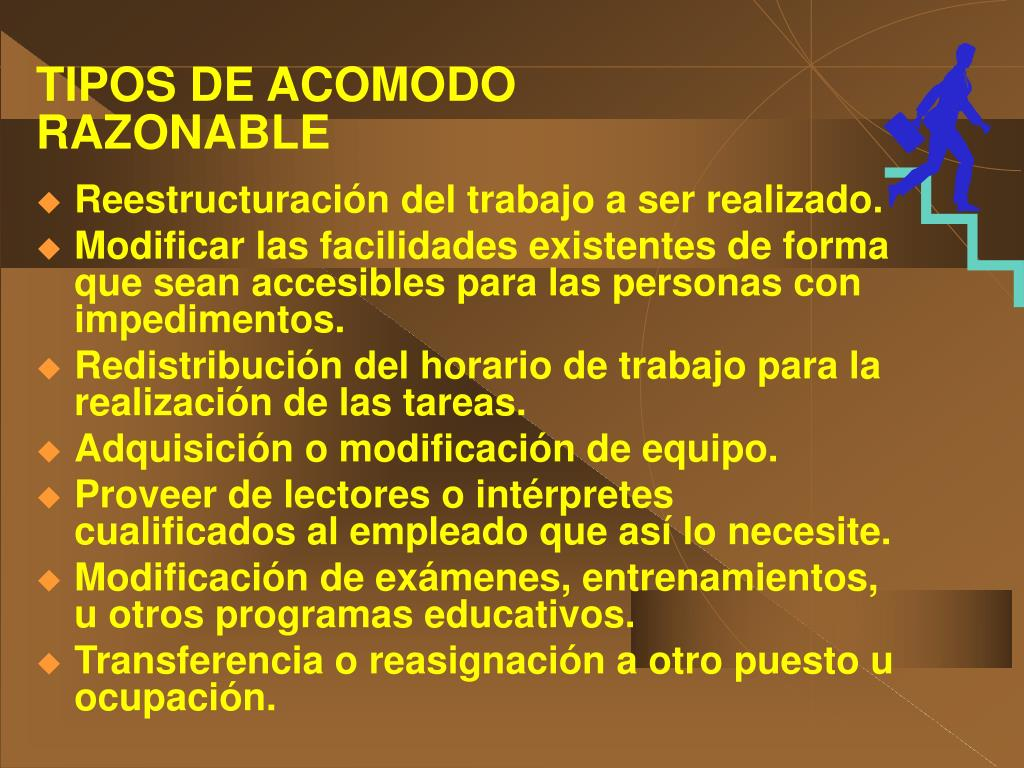 TIPOS DE ACOMODO
