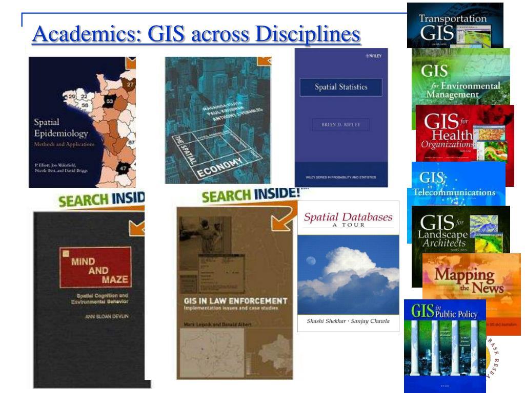 Academics: GIS across Disciplines