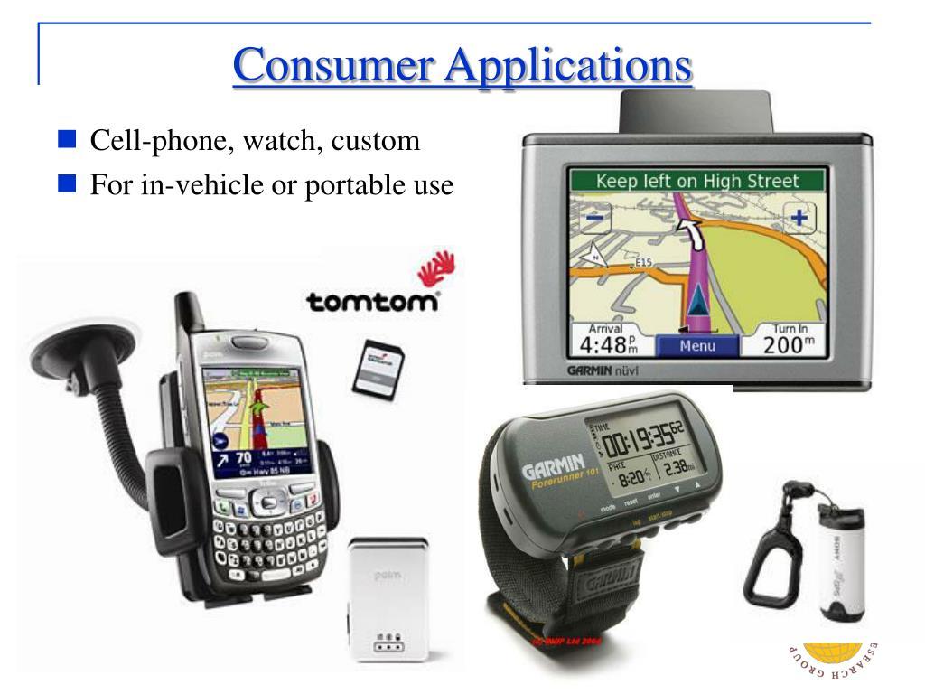 Consumer Applications