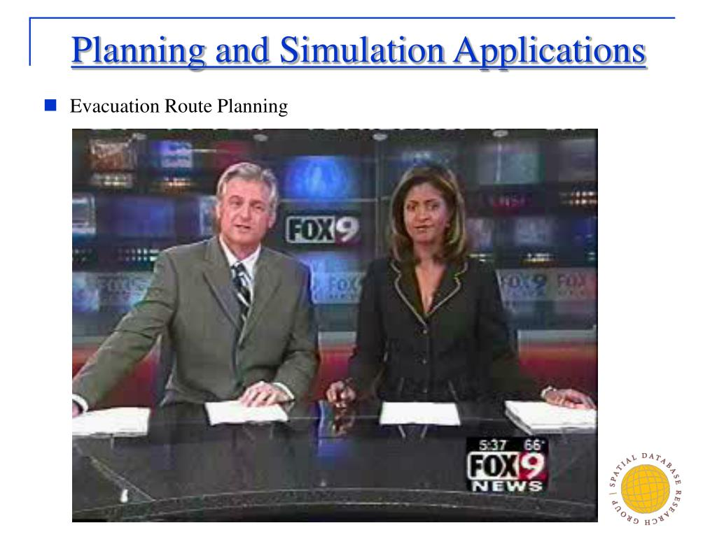 Planning and Simulation Applications