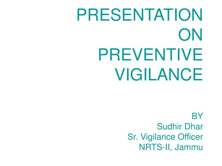 preventive vigilance essay In case of essays, we normally either agree or disagree with either the statement from the topic or what it indicates here, our starting point is preventive vigilance  we need to think if it's good for the people, not good for the people or maybe, we would like to show both sides of the coin and say that.
