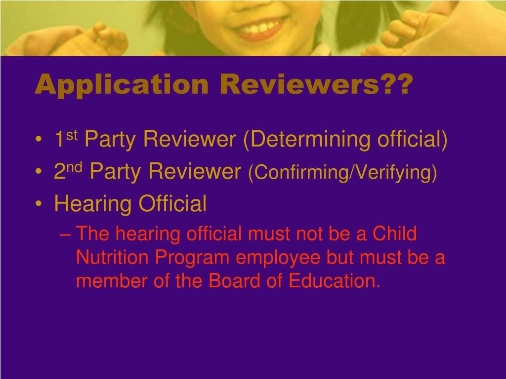 Application Reviewers??