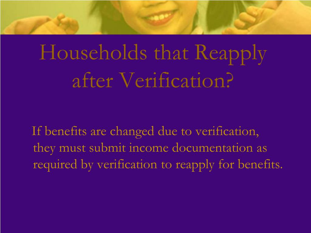 Households that Reapply