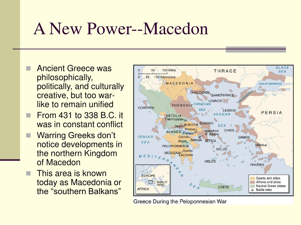 A New Power--Macedon