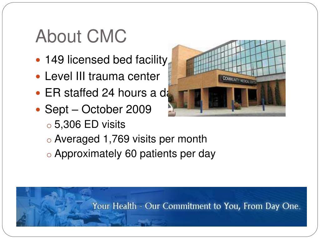 About CMC