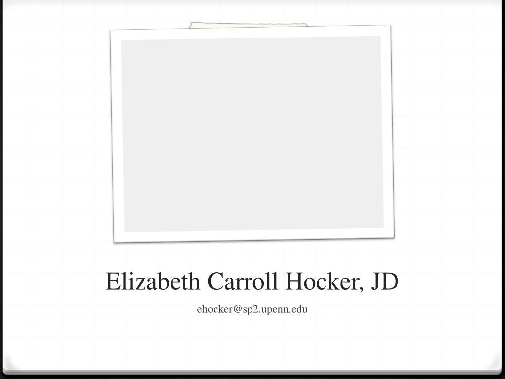 Elizabeth Carroll