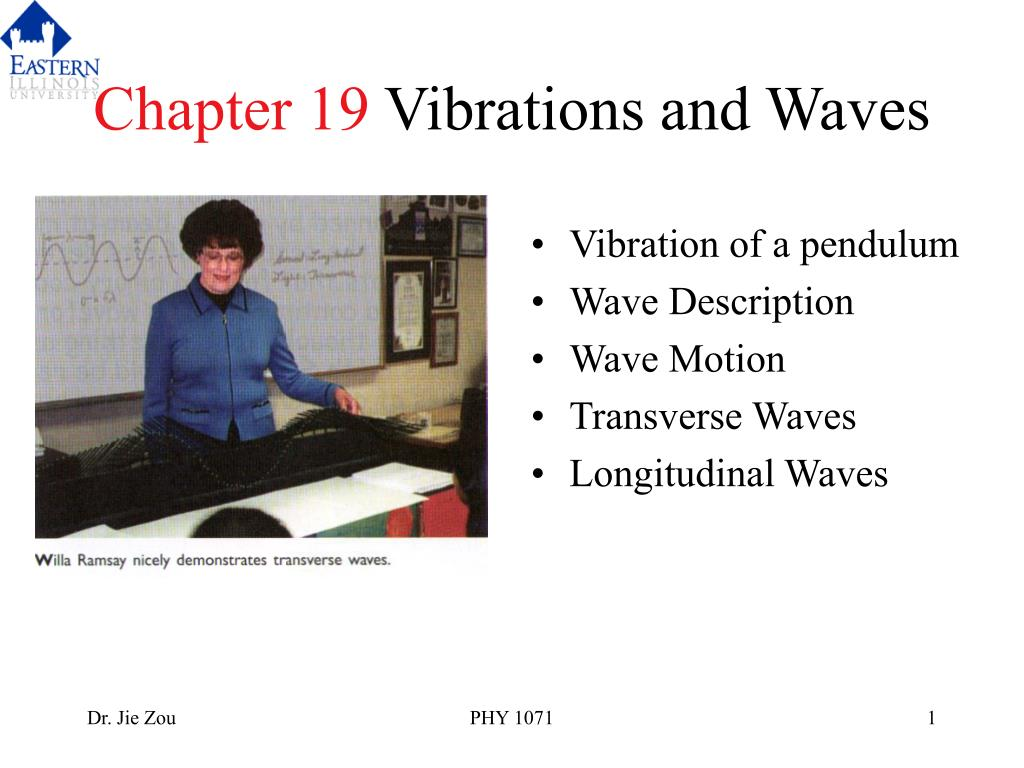 chapter 19 vibrations and waves l.