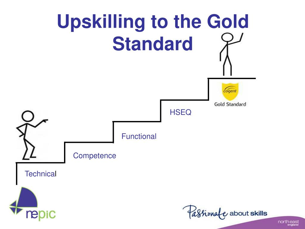 Upskilling to the Gold Standard