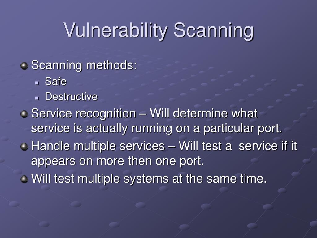 vulnerability scanning essay Vulnerability scanning, web, wmap3 comments on vulnerability scanning with metasploit hola as you all aware of that vulnerabilities can cost you much more and as a developer you don't.