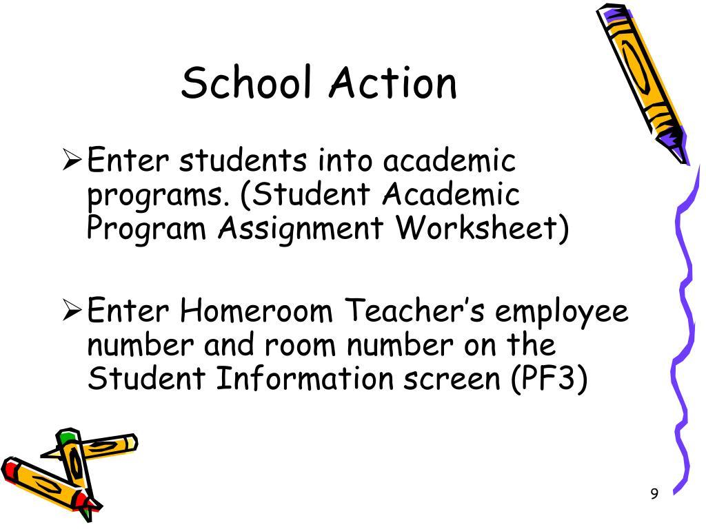School Action