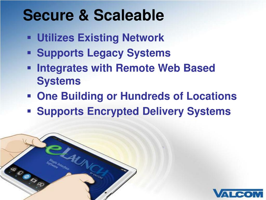Secure & Scaleable