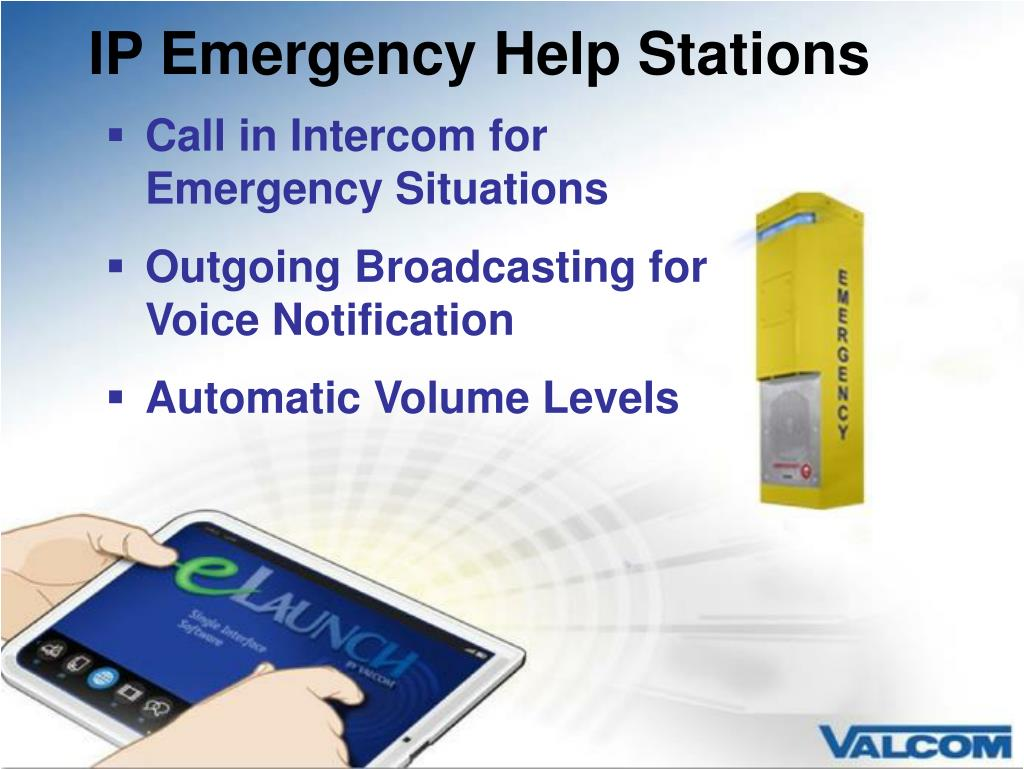 IP Emergency Help Stations