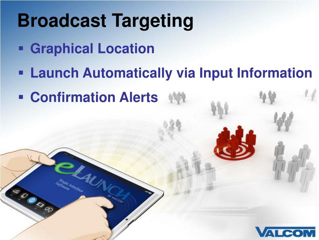 Broadcast Targeting