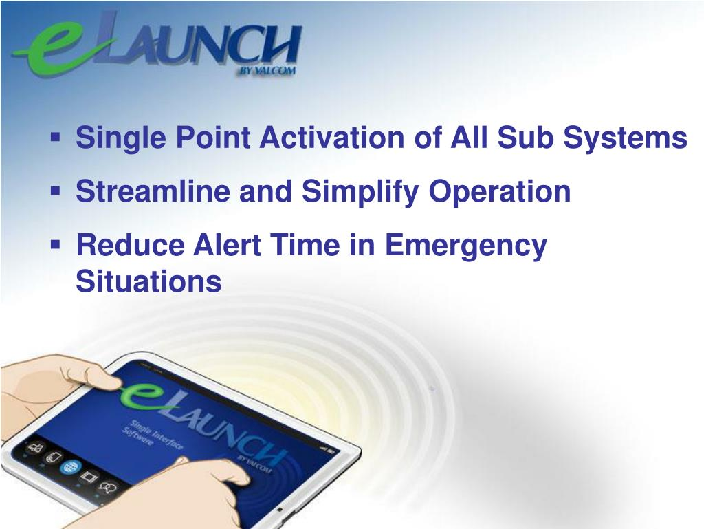 Single Point Activation of All Sub Systems