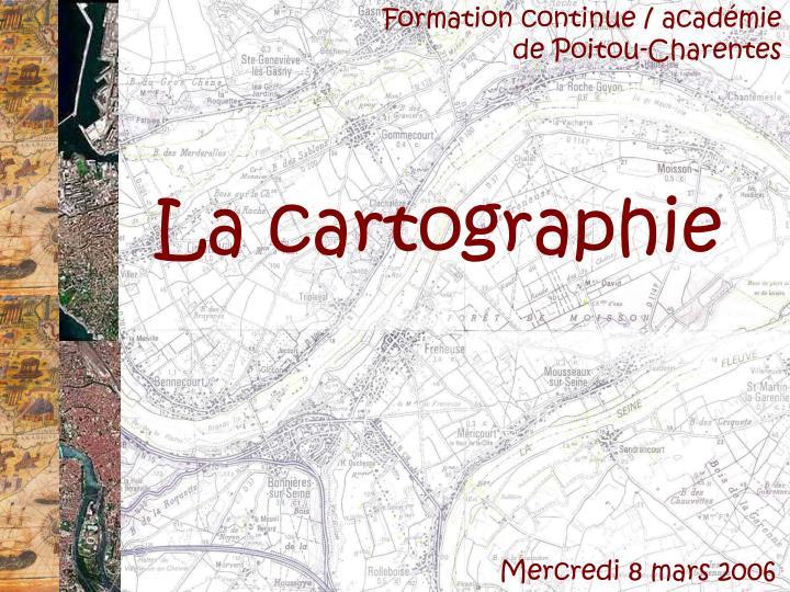 Formation continue / académie de Poitou-Charentes