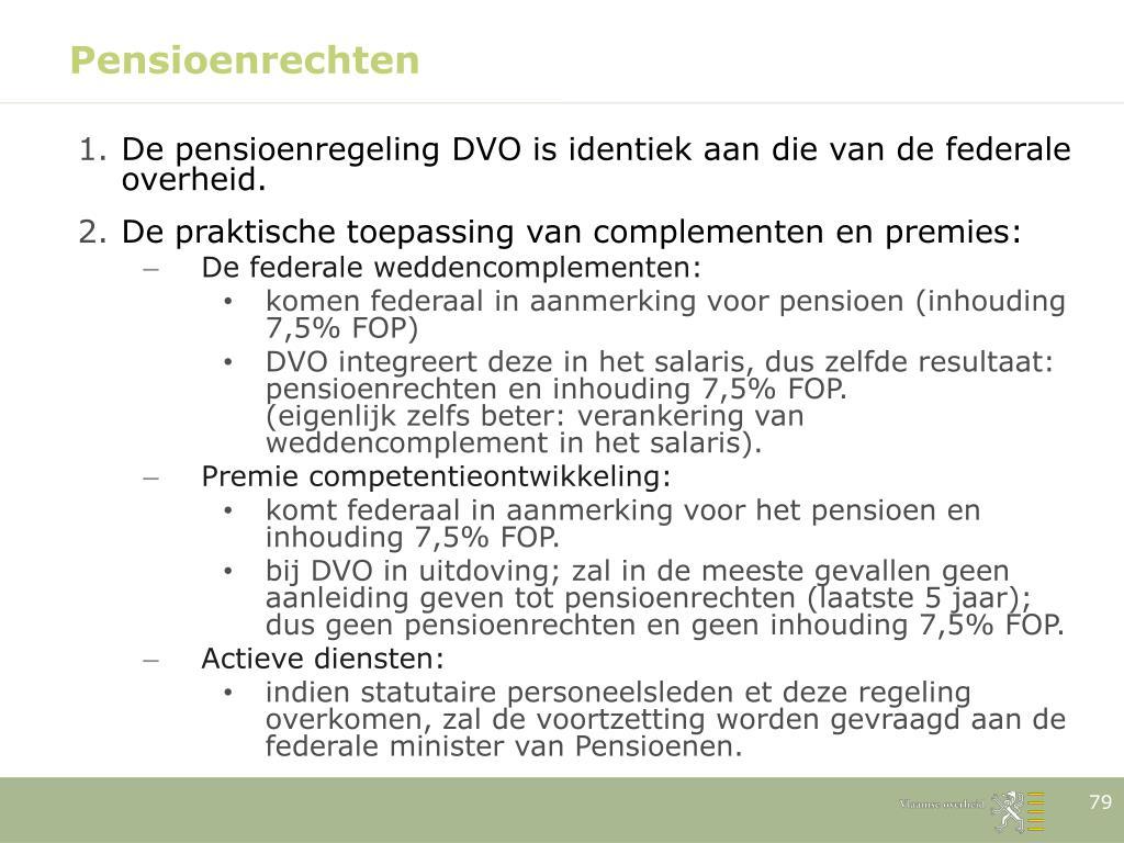 Pensioenrechten