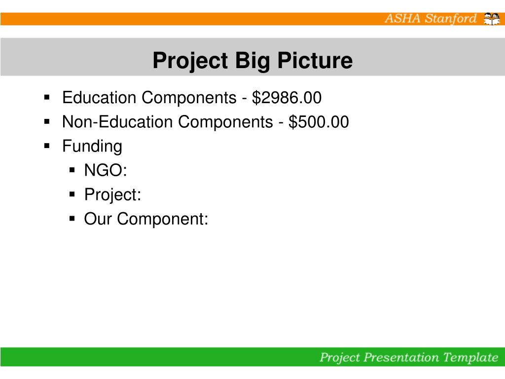Project Big Picture