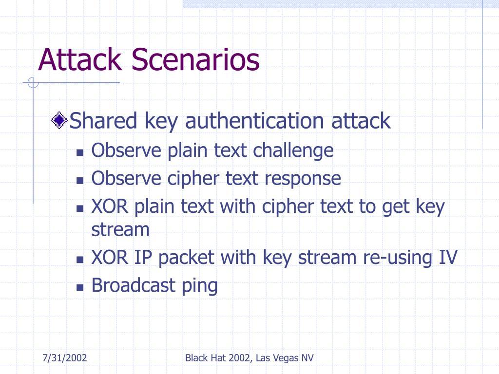 Attack Scenarios