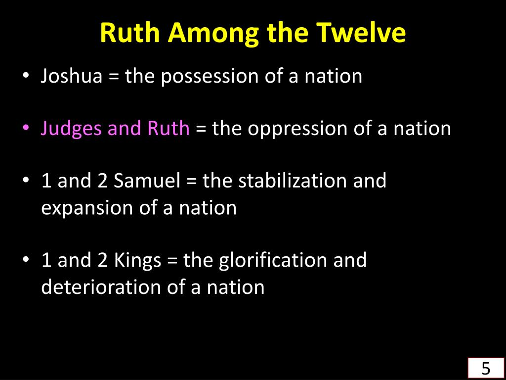 Ruth Among the Twelve