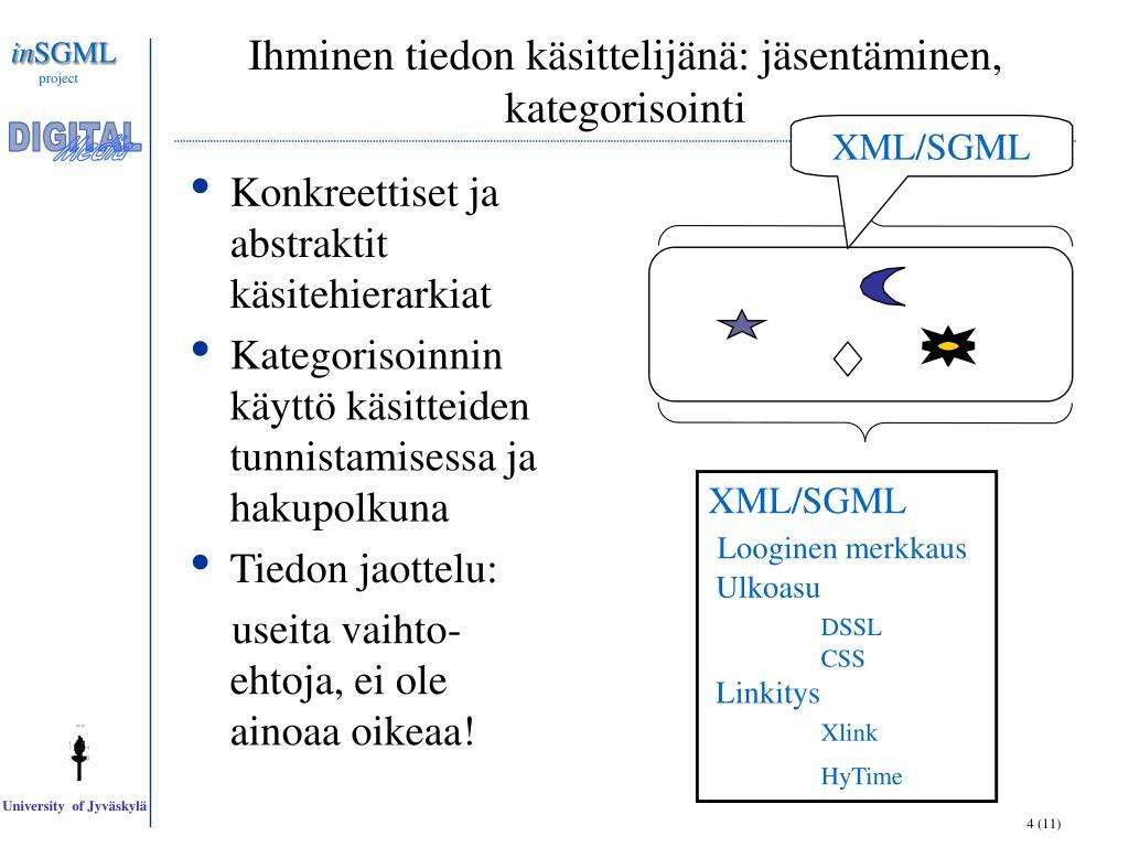 XML/SGML