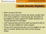 health benefits eligibility