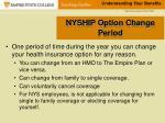 nyship option change period
