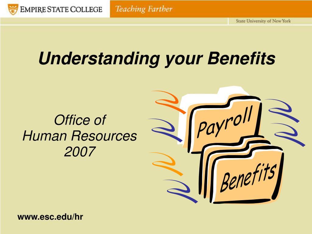 understanding your benefits l.
