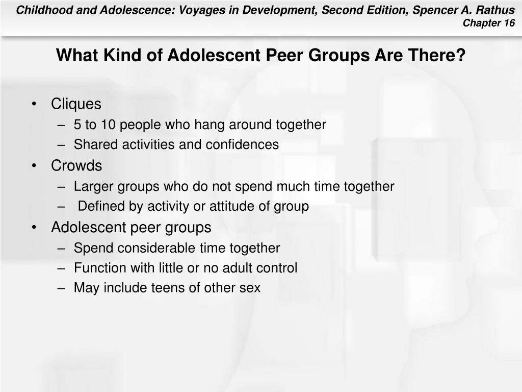 What Kind of Adolescent Peer Groups Are There?