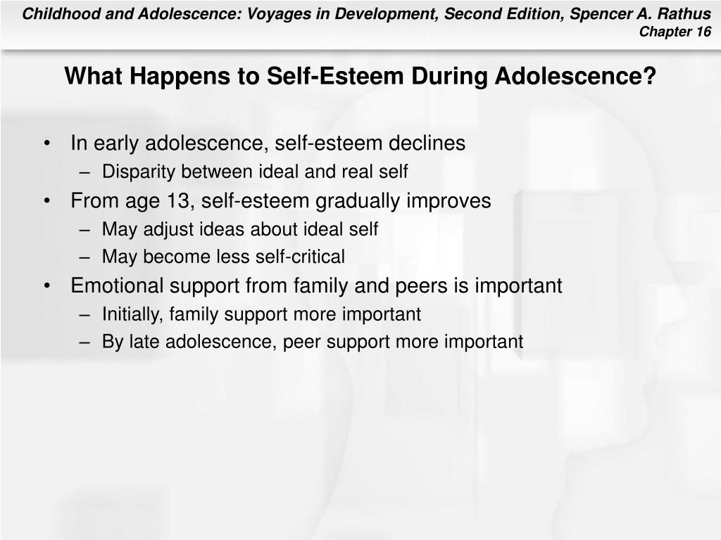 What Happens to Self-Esteem During Adolescence?