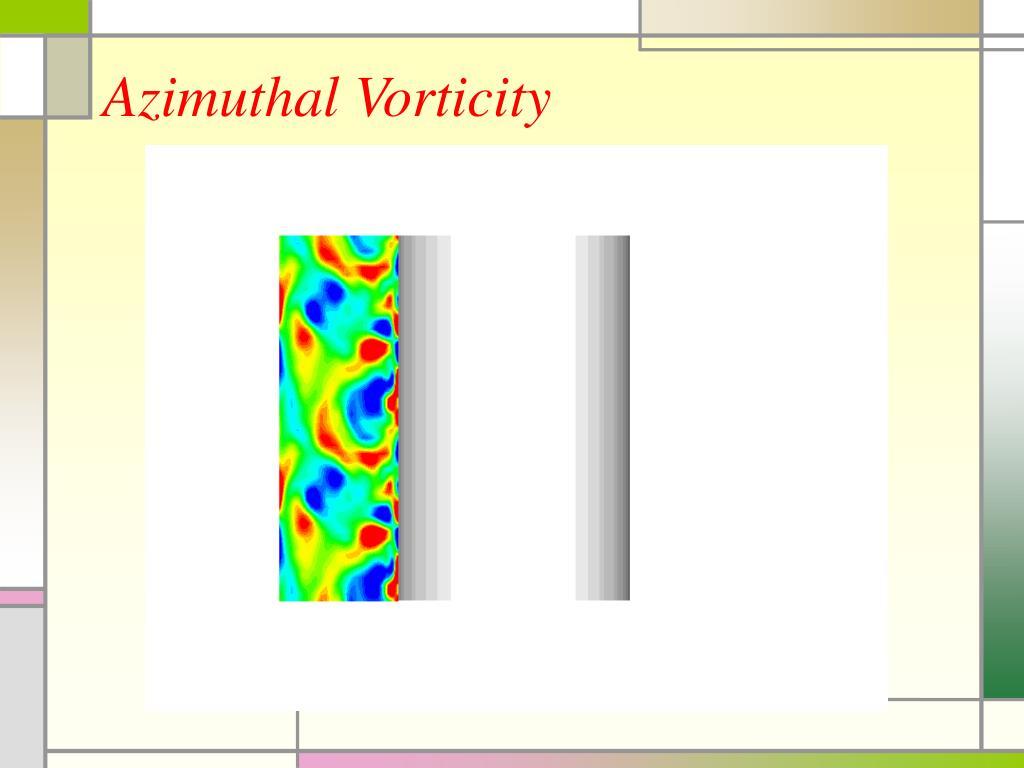 Azimuthal Vorticity