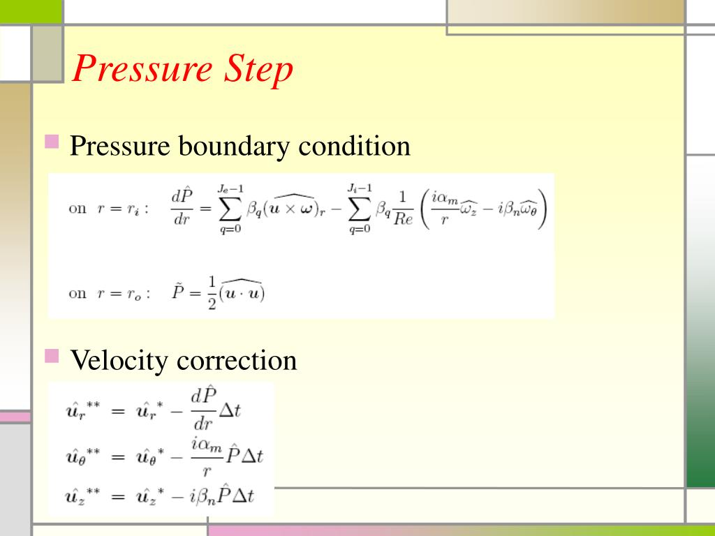 Pressure Step