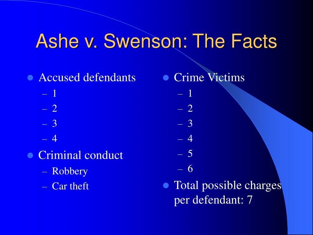 Accused defendants