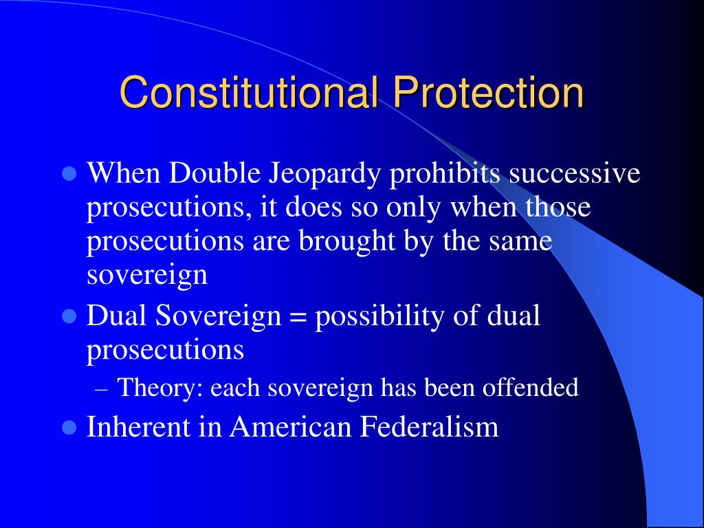 Constitutional Protection
