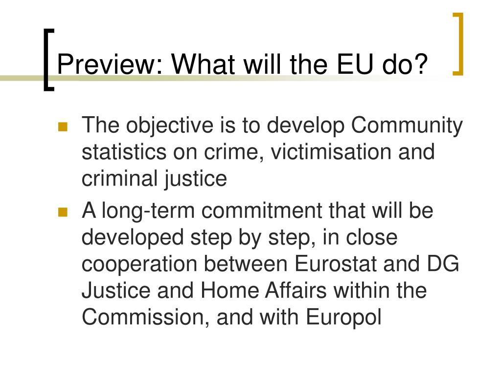 Preview: What will the EU do?