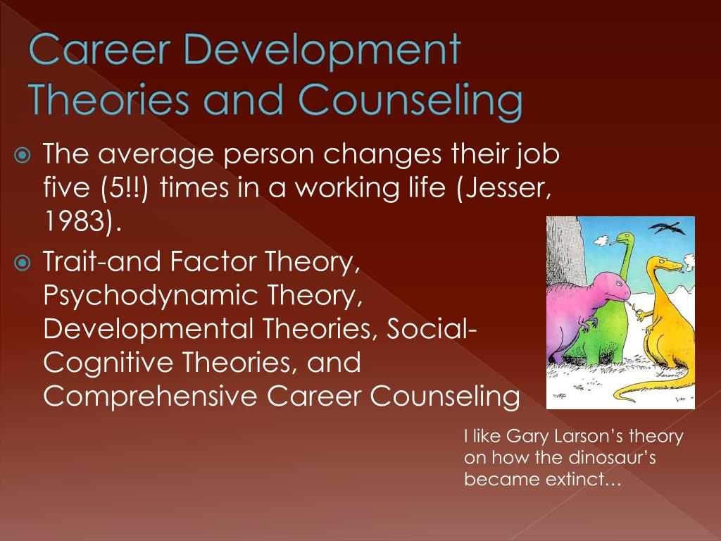 Career Development Theories and Counseling