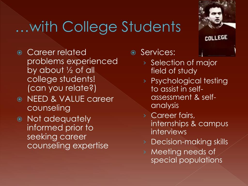 …with College Students