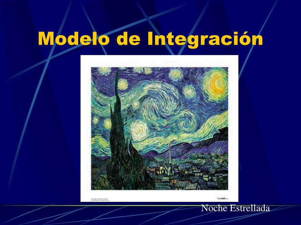 Modelo de Integración
