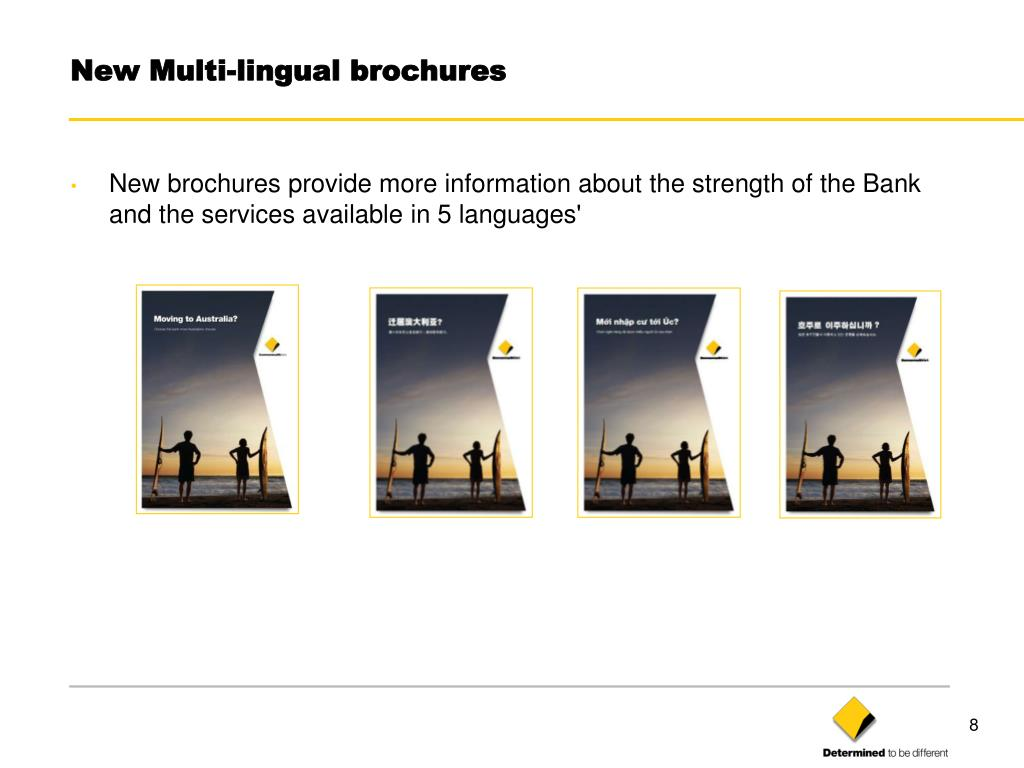 New Multi-lingual brochures