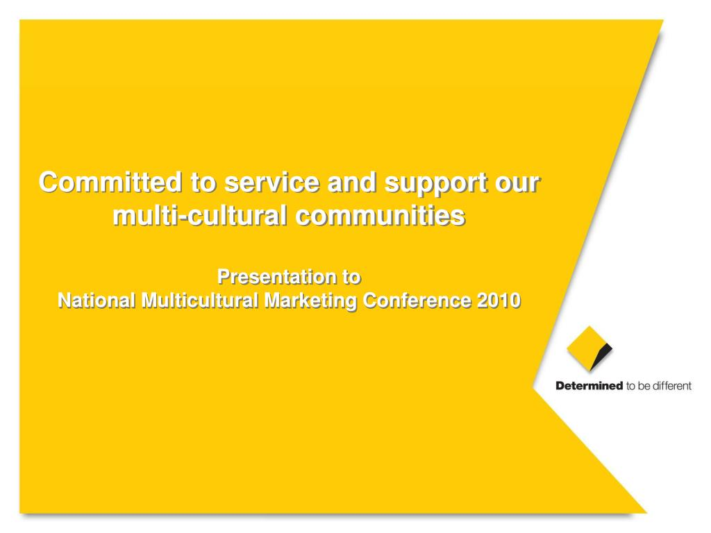 Committed to service and support our