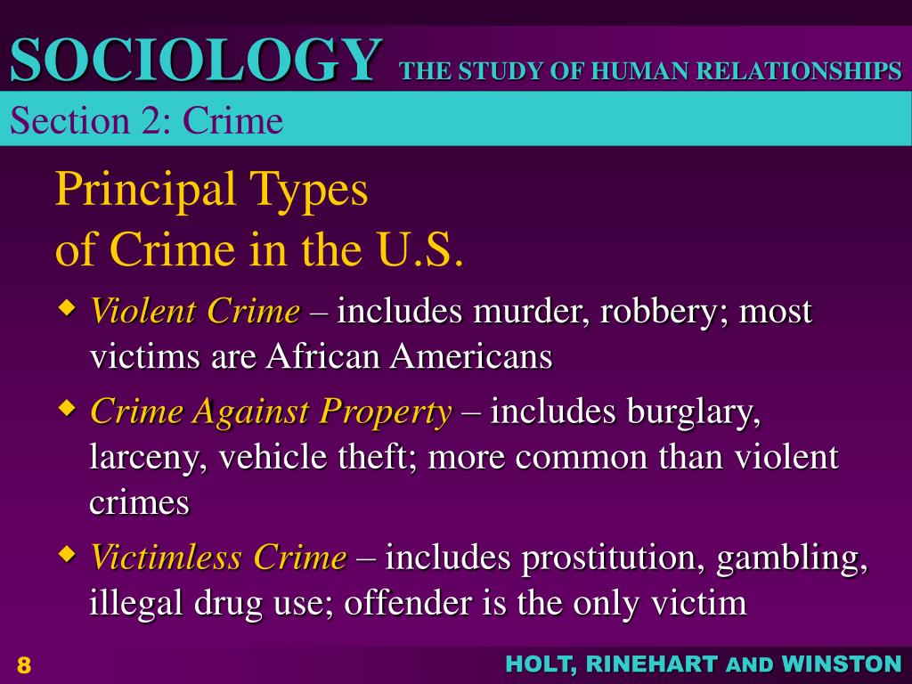 Section 2: Crime
