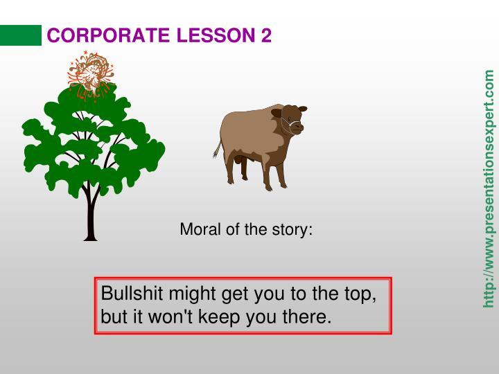 CORPORATE LESSON 2